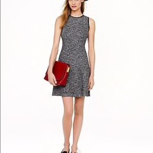 J.Crew Tweed Flare Dress-2